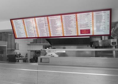 Speisetafel für den Innenbereich