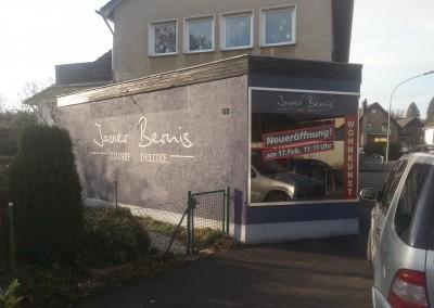 Wandbemalung und Schaufensterbeklebung