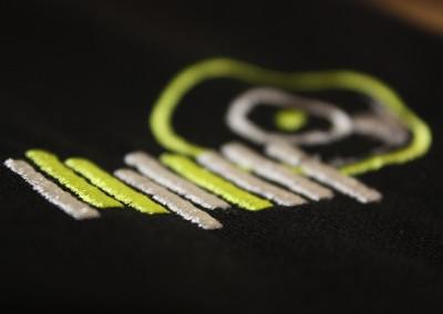 Detailansicht Sticklogo