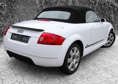 Audi TT weiß foliert